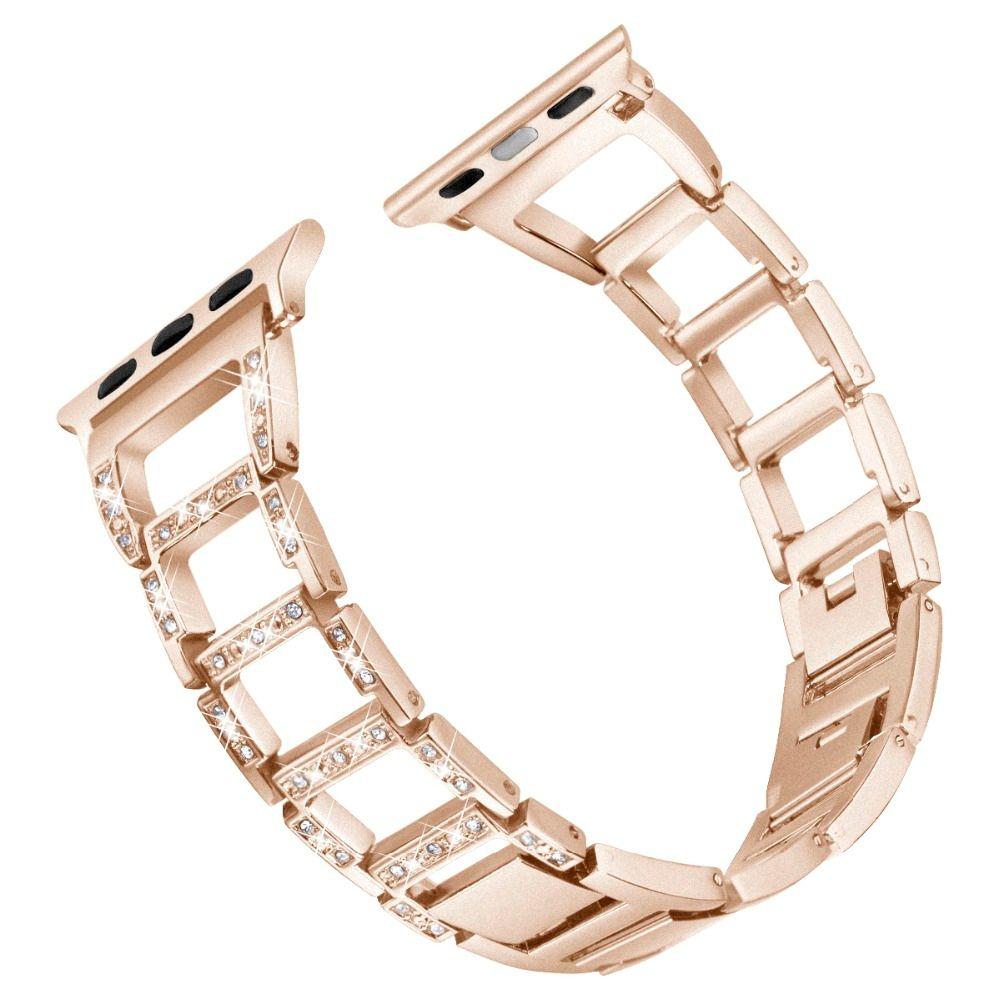 Tschick Rhinestone Diamond Watch Band Stainless Steel Bracelet Strap Watch Bands for 38/40mm 42/44mm Apple Watch Series 4 3 2 1