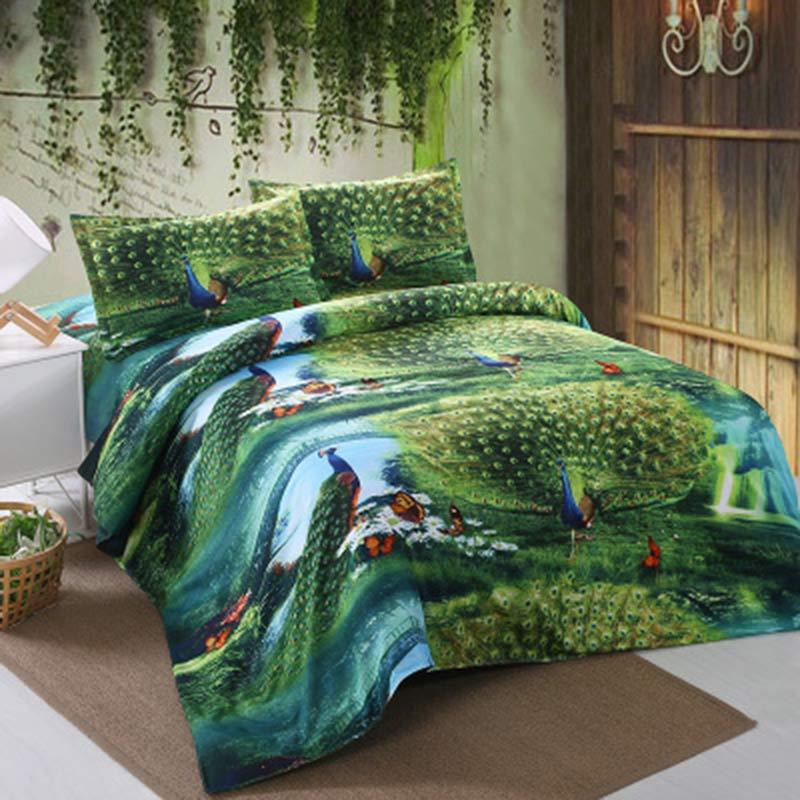 3d Peacock Bedding Set 220 240cm 200 230cm 150 200cm Duvet Cover 180 230cm 230 230cm 230 250cm Sheet Bedding Sets Duvet Comforter Sets Blanket Sets From Tinaya 37 14 Dhgate Com