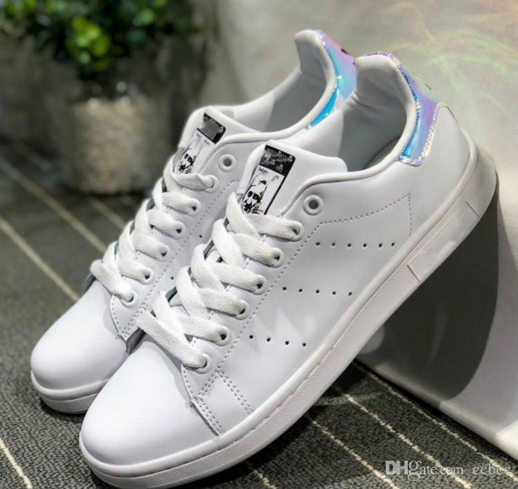 the best attitude 57f3a 2657b 2019 Stan Smith Shoes Brand Women Men Stan Shoes Fashion Smith Sneakers  Casual Leather Superstars Sport Shoes Without Box From Best_jersey2019,  $25.58 ...