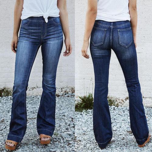 Seksi Kalça Kadınlar Yukarı Kalem Pantolon İnce Elastik Pantolon Sıkı Flare Kol Moda Pantolonlar Femma Giyim itin