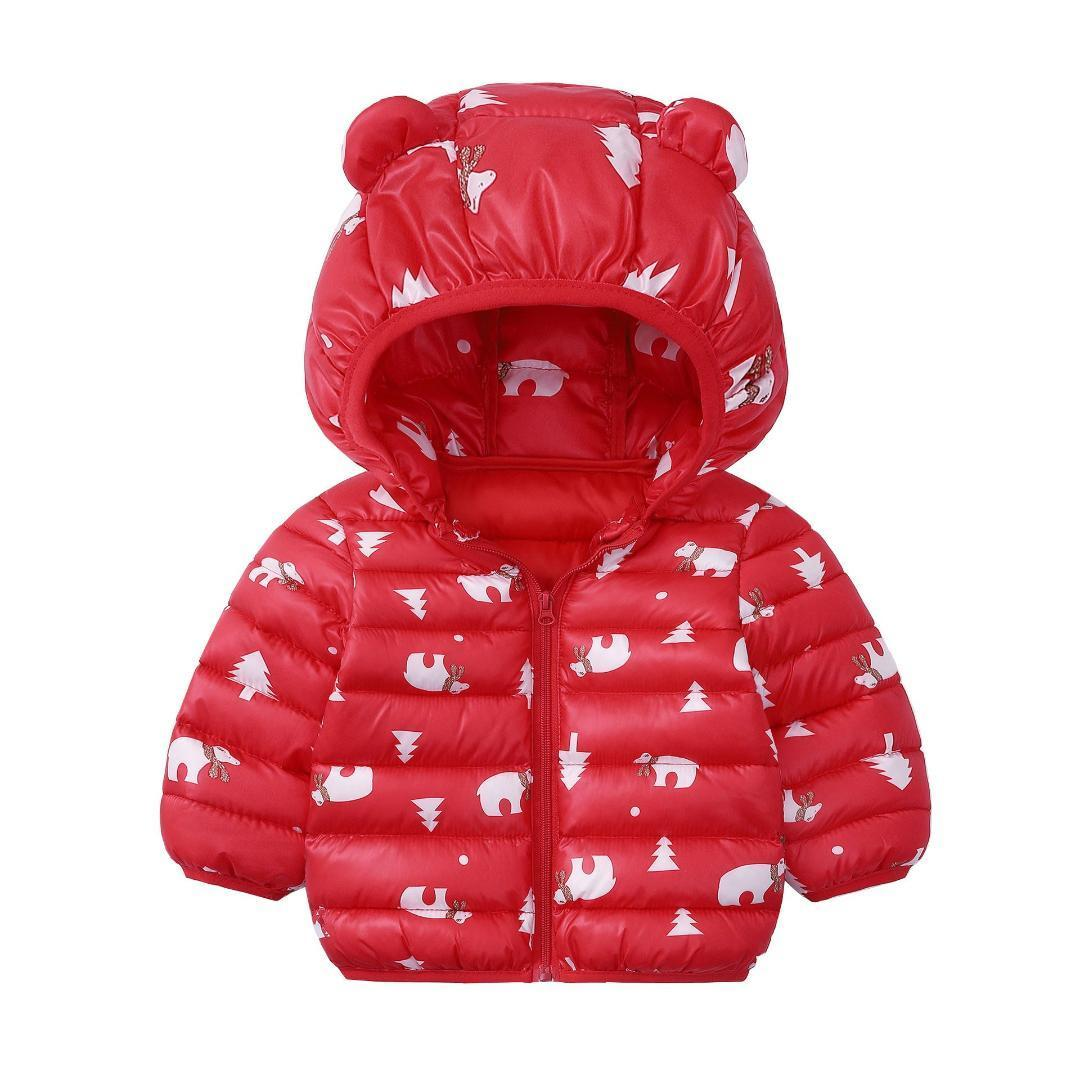 Baby Girls Boys Hooded Coats Jackets Toddler Kids Autumn Winter Warm Cloak Infant Letter Printed Hoodies Sweatshirts Blouse Long Sleeve Pullover Tops Suit for 1-6 Years Baby