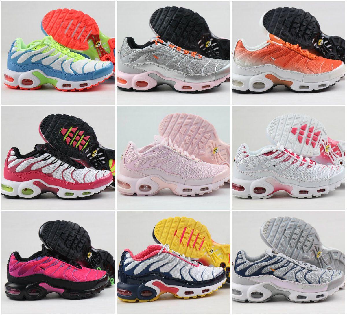 2020 NEW Original AIR Tn Plus WOmen SHOEs DesigNs CHEap Tn REquin Chaussures Femme Ultra OG Sneakers Triple Black White Sports Trainers Shoe