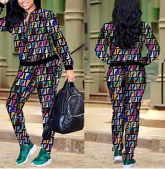 Mode 2pcs Ensembles Lettre Femmes Survêtements Noir D'été T Shirt Lettre Imprimer Survêtement Femmes Shorts Tops Ensemble S-3XL RL391