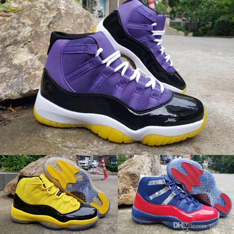 11 11s New Arrival Jumpman Lakers