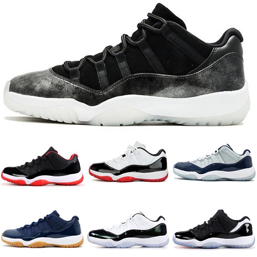 Jumpman 11S Мужчины Мужчины Баскетбол обувь 11 Мужские Кроссовки Bloodline Royal Blue Бесстрашный Бред Obsidian Unc Черный Toe спорта тапки # 724