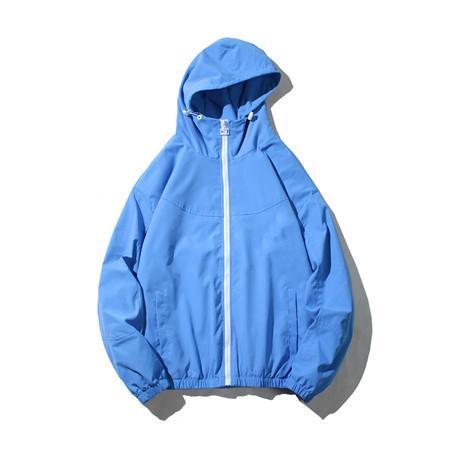 Pure Color doce Correr Desporto Blusão de Designer Mens Womens Marca Primavera Outono Windbreaker Zipper Ativo Jackets Windbreakers B100291V
