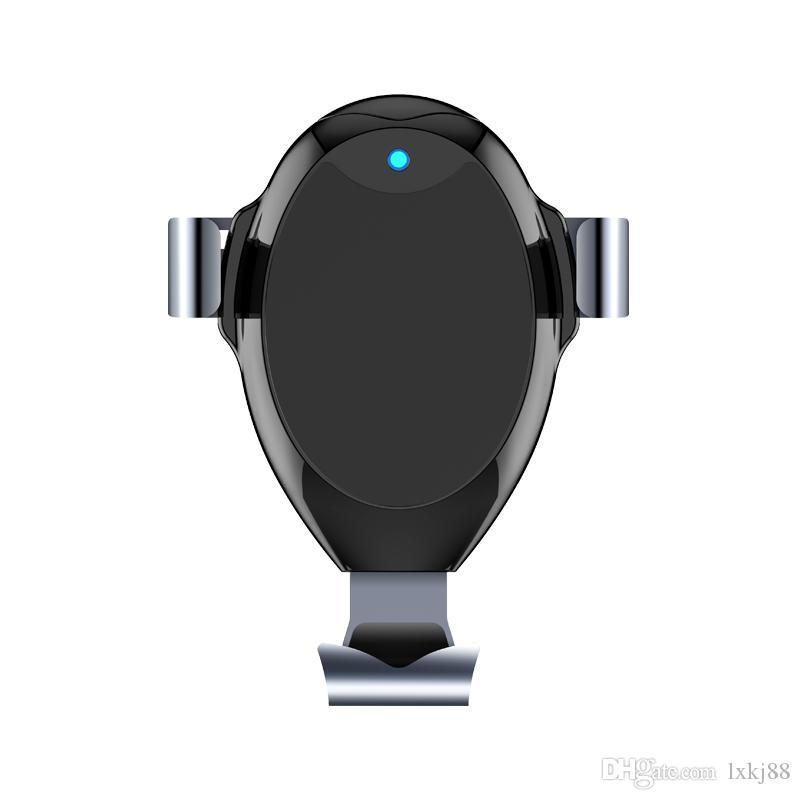 Support de chargeur de voiture sans fil rapide G03 Support de téléphone Qi pour iPhone Samsung et autres