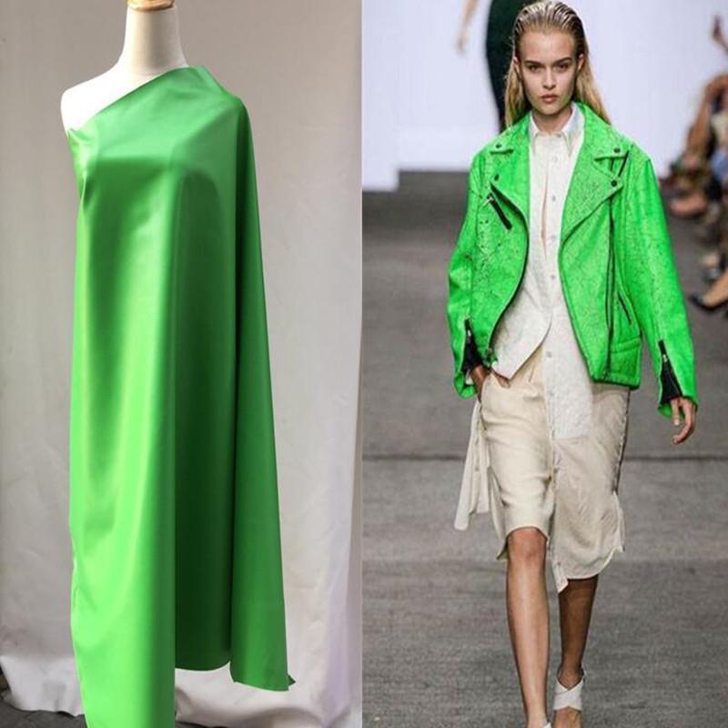 Green pu lether fabric Elastic force magic color laser sofa car TPU clothing Waterproof PVC sofa coat diy textiles fabric,D166