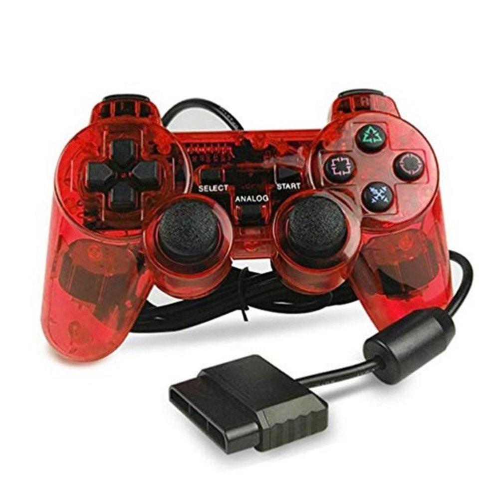 Wired Gamepad für Sony PS2 Controller für Mando PS2 / PS2 Joystick für plasystation 2 Double Vibration Schock Joypad Wired Controle