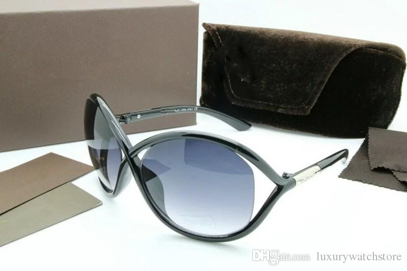 Luxe haut qualtiy Nouvelle Mode 0392 0394 Tom Lunettes De Soleil Pour Homme Femme Erika Lunettes ford Designer Marque SunGlasses avec boite originale 5178