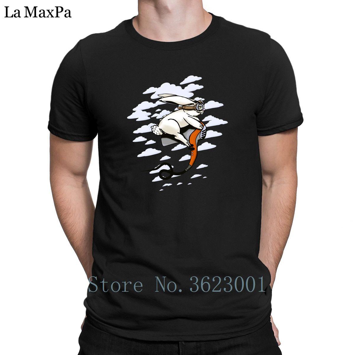 Baskı Boş Tee Gömlek Hare Kurutucu Flyer Erkekler Tişört Moda 2018 Erkekler Tişörtlü Zeki Tee Gömlek Kaliteli Artı boyutu 3XL