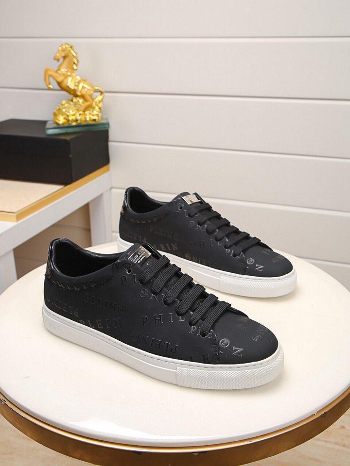 2020Designer NOUVEAU Chaussures Hommes Chaussures BasketsPHILIPPPLEINPPChaussures Business Casual hommes 38-46 2174-2