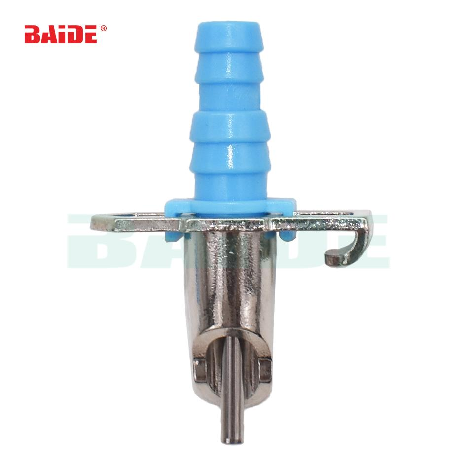 Automatic Water Feeder Drinker Fountains Waterer with Spring and Tee Coupling for Rabbit Chicken Poultry