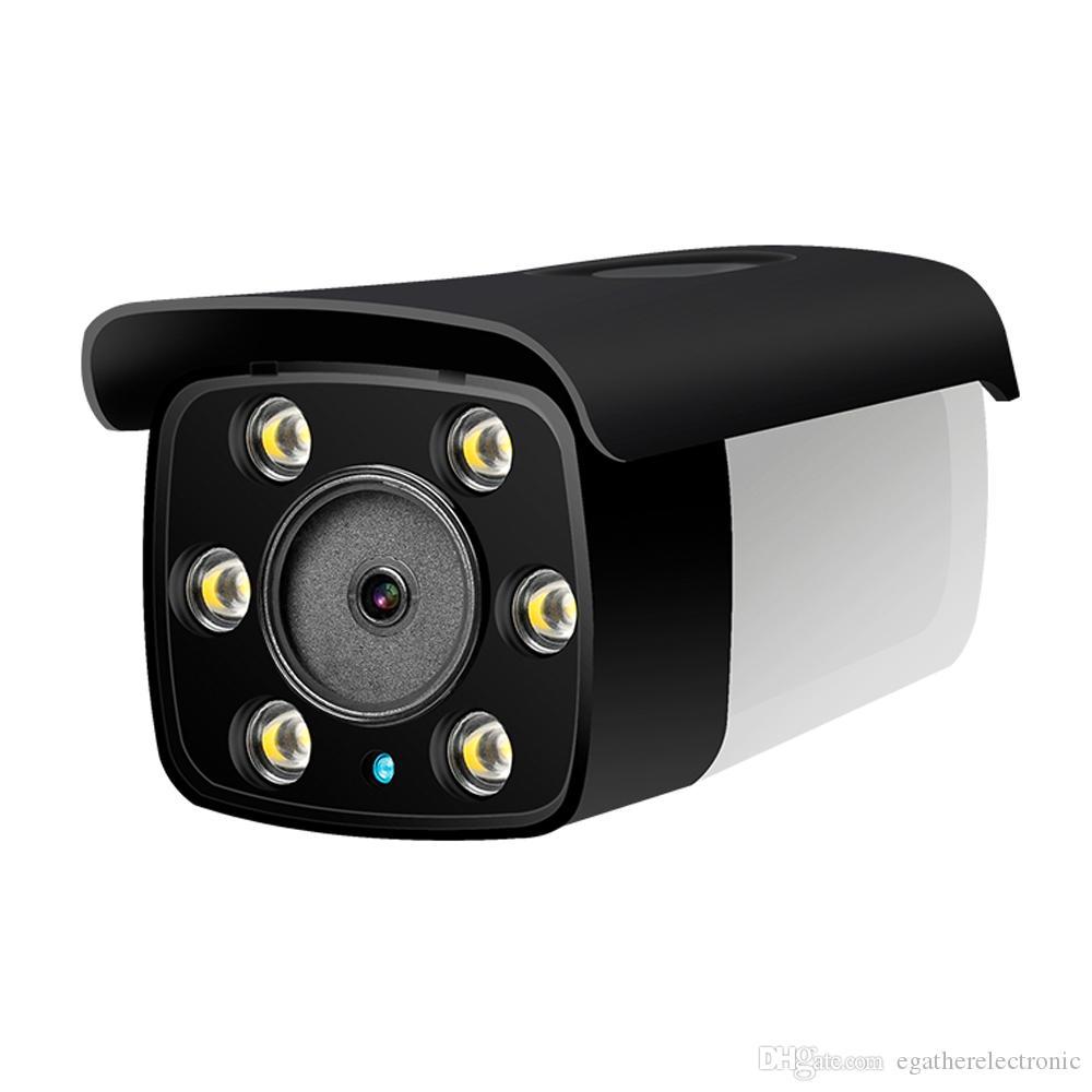 H.265 IP POE 3.0MP كاميرا لفي الهواء الطلق ضوء دافئ اللون الكامل للرؤية الليلية ONVIF P2P الشخصي للهاتف المحمول