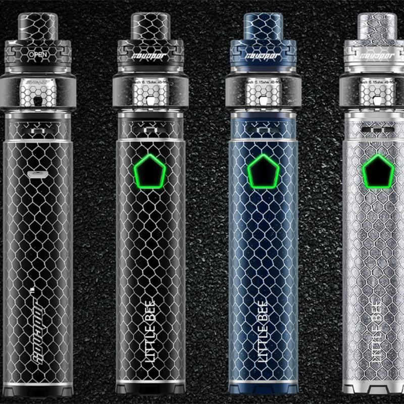 XO Vaportech kleine Biene e Zigarette Vaporizer 18650/20700/21700 Mod 120w Vape Kit 510 Thread Vape Batterie