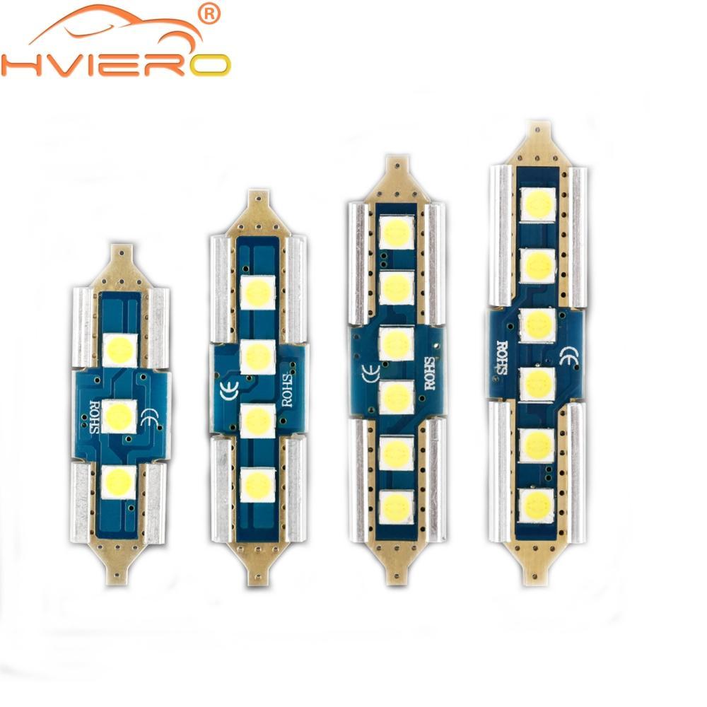 Doppelter Schulterkupferkopf 3030 4Led Haubenlaternenlicht Canbus C5W C10W führte Autoleselicht-Kfz-Kennzeichentür-Ersatzlicht