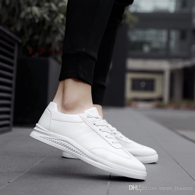 Siyah Beyaz Eğitmenler Açık yürüyüş Spor Zapatos Trainer Spor Ayakkabılar için Bedava alışveriş Erkekler Günlük Ayakkabılar Sıcak Erkekler Tuval Ayakkabı