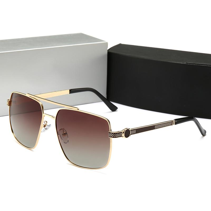 Sıcak Marka Güneş Gözlüğü Lüks Sunglass Moda Tasarımcısı Stil Yaz Bayan Cam UV400 Kutusu ve Logosu ile Çok Yüksek Kalite Tam çerçeve