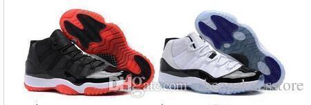 Haute Qualité 11 Space Jam Bred Gamma Bleu Chaussures de basket Hommes Femmes 11s Concordes 72 -10 Legend Cool Blue Gris Chaussures de sport avec la boîte