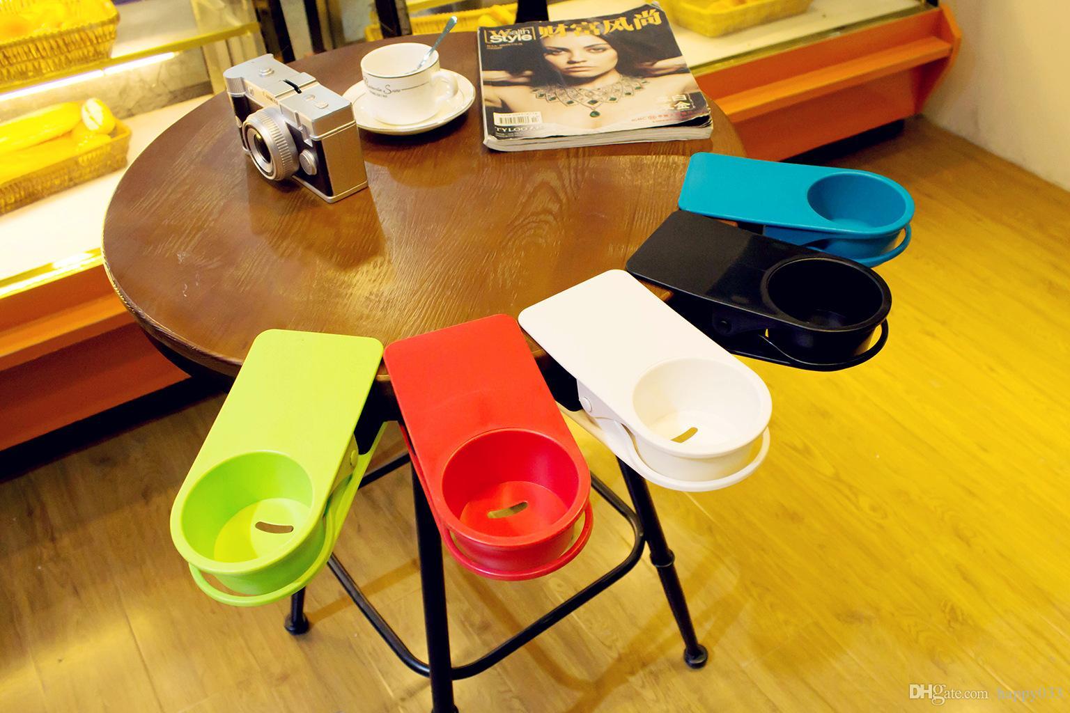 Tisch Schreibtisch Side Riesige Clip Trinkbecher Halter Getränkeflasche