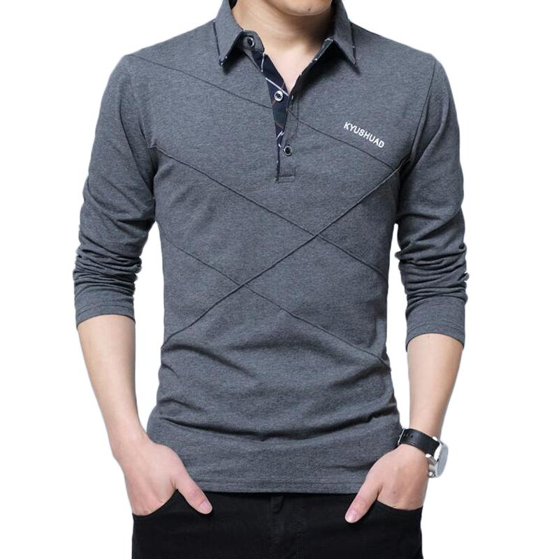 T Shirt Men Long Sleeve Tshirt Mens Casual Cotton Stripe T-shirt Slim Fit Stylish Luxury Fitness T Shirts Man New Tee Tops 5XL