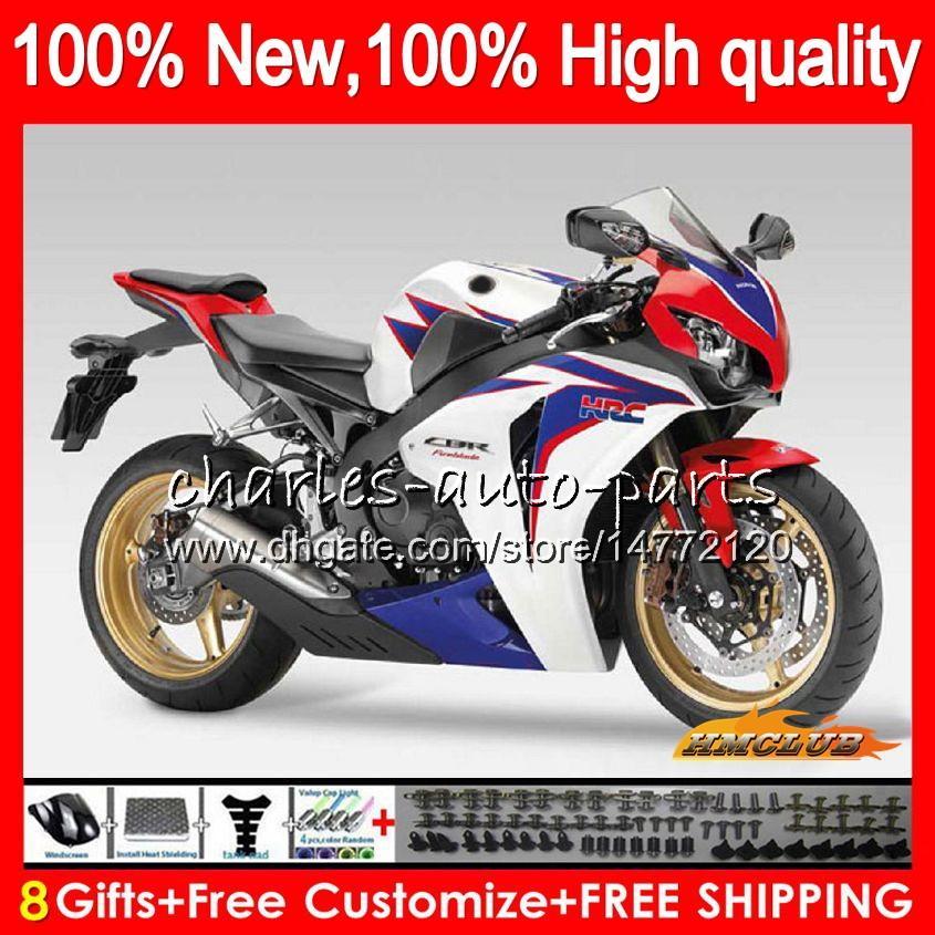 HONDA CBR 1000cc 1000 RR CC R için Vücut mavi beyaz Takımı 2008 2009 2010 2011 79NO.72 CBR 1000RR CBR1000 RR CBR1000RR 08 09 10 11 OEM Fairing