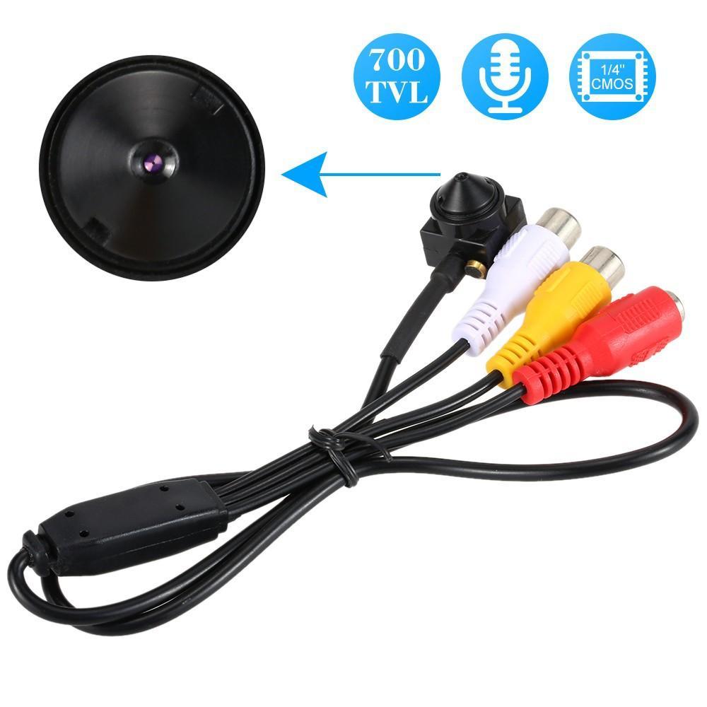 La lente de interior en forma de cono nueva red de alta definición mini pequeño volumen de Vigilancia de la cámara mini cámara 1/4 COSM