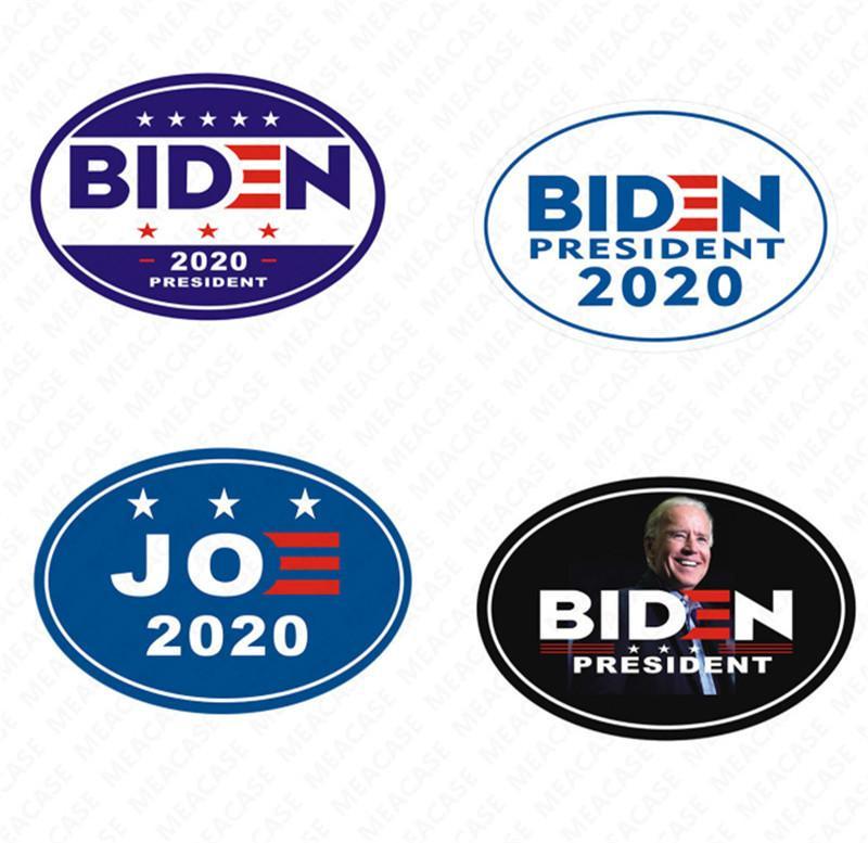 2020 Stati Uniti Joe Biden L'elezione lettere stampate magnetico auto Sticker Fridge Magnet Adatto per Metalli impermeabile pasters Tatuaggi D7207