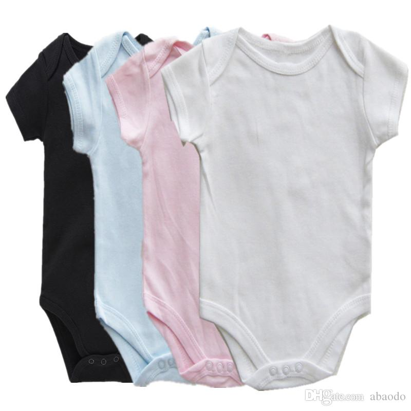 A001 AbaoDo 새로운 도착 100 %면 일반 아기 장난 꾸러기 유아는 짧은 소매 신생아 의류 최고 품질의 바디 수트를 바디 슈트