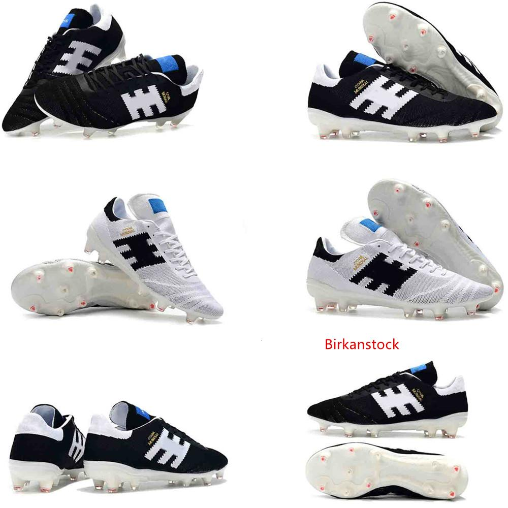 Zapatos para hombre de la Copa Mundial de piel 70Y FG fútbol blanco Negro del diseñador original Tacos de fútbol Copa Mundial de Fútbol Botas tamaño de las zapatillas de deporte 39-46