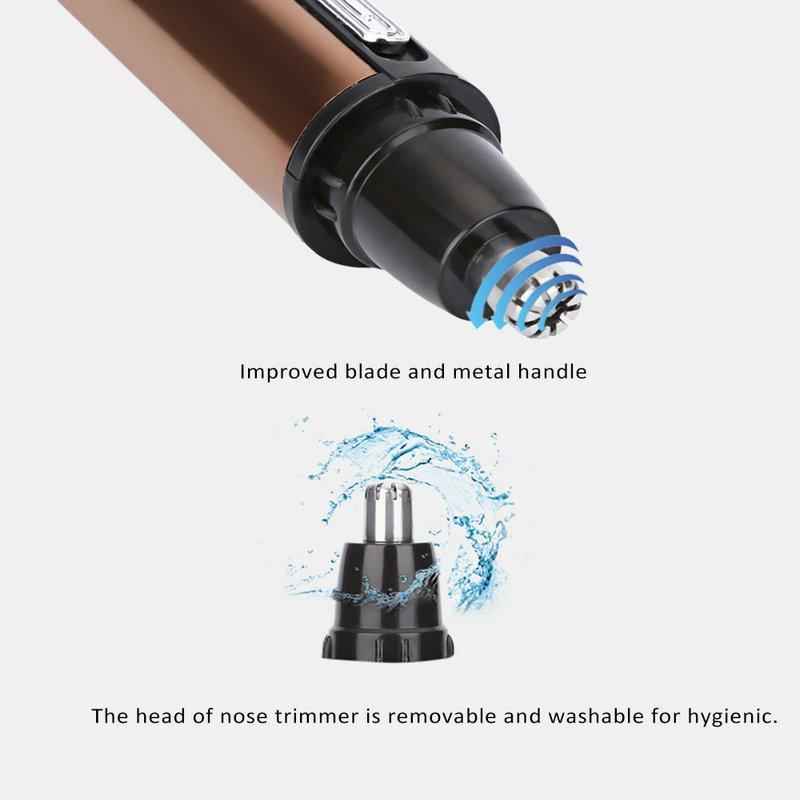Burun içi Makas Km-6619 hairclippersshop bXLgW Kırpma bir cheveux şarj edilebilir tondeuse Sıcak Satış Elektrik Burun