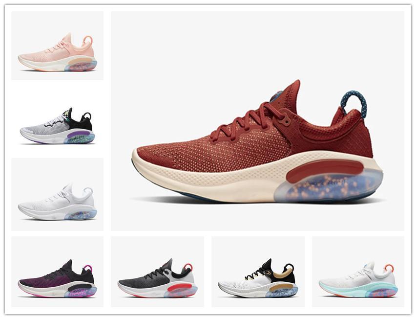 2019 Joyride Run FK para mujer para hombre de los zapatos corrientes Triple Platino Negro Blanco Tamaño del corredor azul Diseñadores Deportes zapatillas de utilidad 36-45