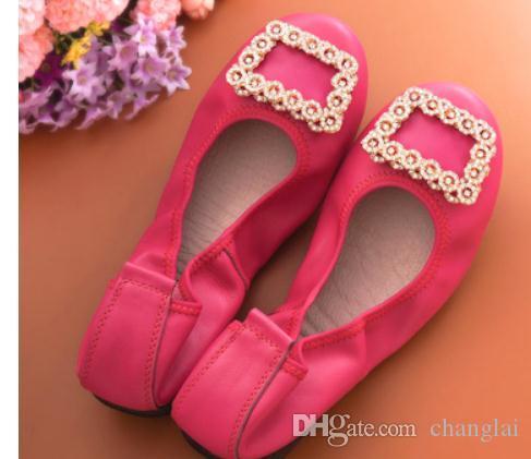 2020 scarpe da donna in primavera e in autunno con il nuovo stile piatto fondo tondo trapano testa acqua @ 6128