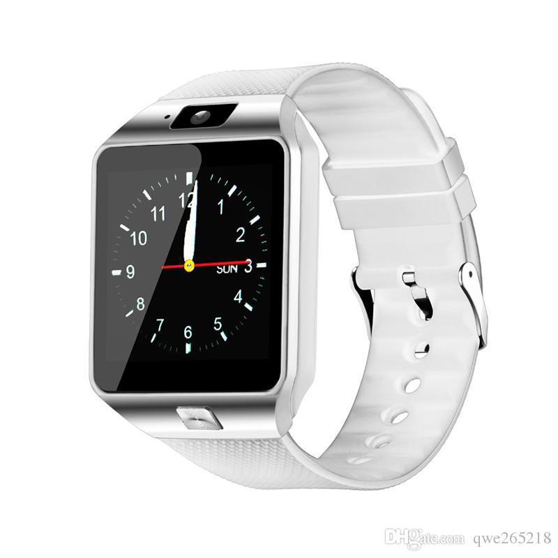 블루투스 DZ09 스마트 워치 손목 시계 터치 스크린 아이폰 삼성 안드로이드 전화 수면 스마트 시계 소매 상자 GT08 U8