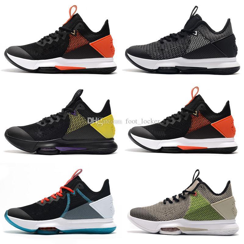 2020 أحذية جديدة ليبرون الشاهد الرابع 4 EP جيمس ليندون جونسون للأطفال كرة السلة للرجال بيربل رياضية المدربين رياضة الأولمبية الأزياء والأحذية مصمم الرياضة