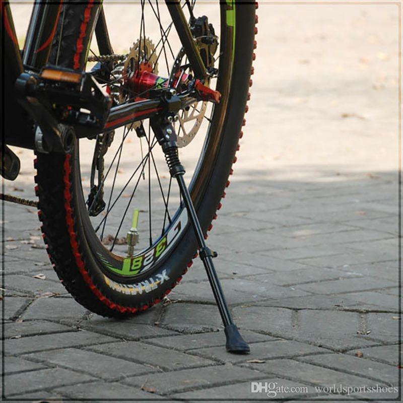 Mountain Bike Foot Brace Bicycle Kickstand Side Single Support Parking Rack KIts