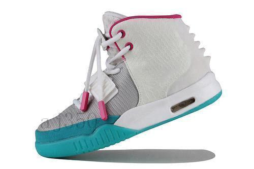 migliore Kanye West rosso 2 chaussures basket pour hommes modalità Cesti lupo grigio solari rouges 2 NRG blanc cesti sport6629 #