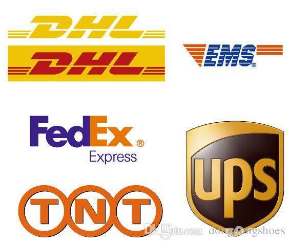 DHL Suplemento, de pago adicional para la carga de las órdenes o el costo muestras según discutido