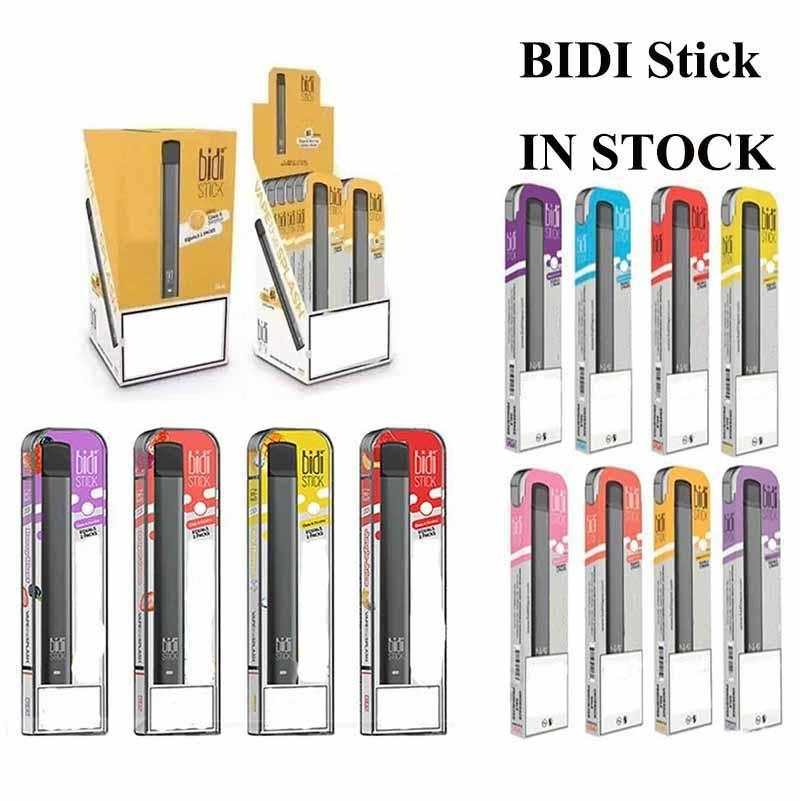 IN STOCK BIDI STICK Portable Kit Vape Pen Cartridges Vapor 1.4ml 280mAh Battery e Cigs Carts PREMIUM Vaporizer