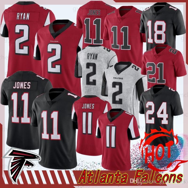 Falcon 11 Julio Atlanta Jerseys Jones 21 Deion Sanders 2 Matt Ryan 18 Ridley Jerseys limitada 24 Devonta Freeman nova Football Jerseys