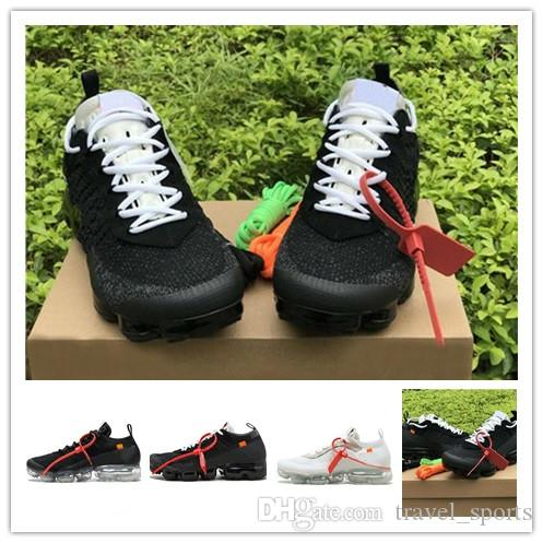 Nike Air VaporMax FK 2019 Mens Sneakers 2018 2.0 vapori uomini max donne Air Cushion Desinger scarpe sportive bianche chaussures zapatos de traspirante caldo TS219