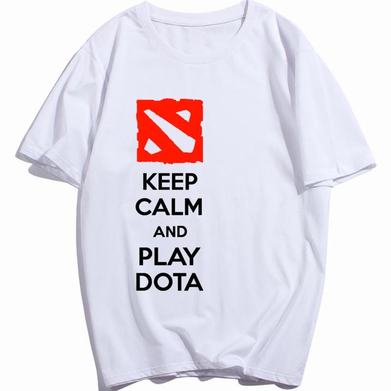 Defense of the Ancients DOTA 2 Jeu T-shirt multijoueur Videogame O Neck vêtements en coton Camisetas Hauts pour hommes Taille Plus