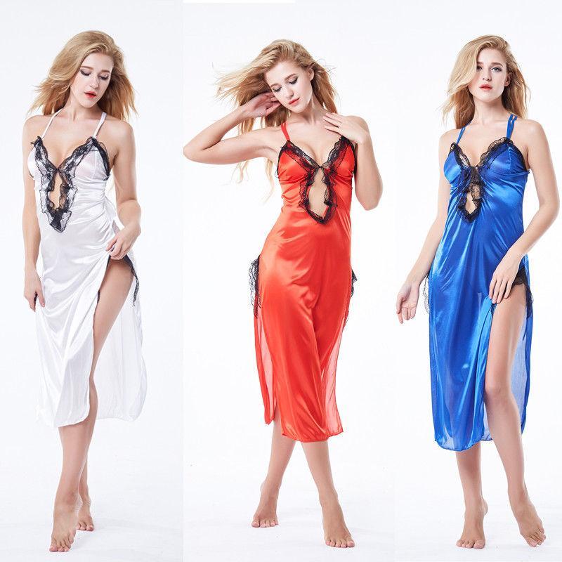 Frauen-reizvolle Wäsche-Nachtkleid Spitze sexy heißen erotischen Babydoll Nachtwäsche Nachtwäsche Baby-Puppe Unterwäsche Geschlechtskostüm nuisette