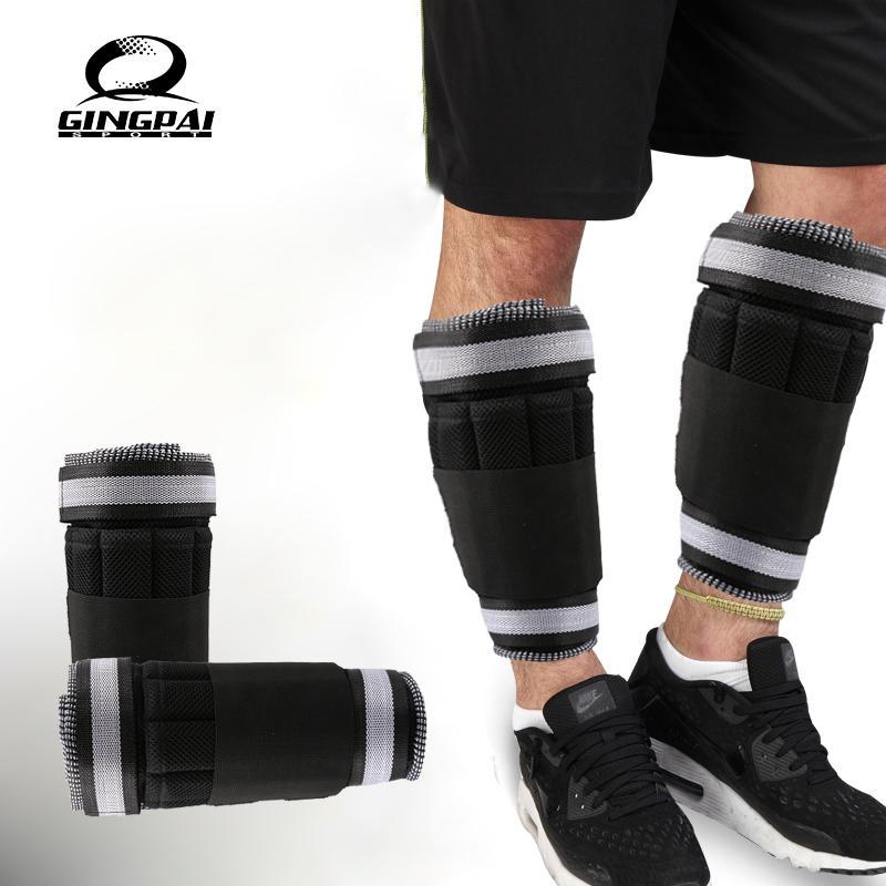 1 kg = 1 paire de poids de jambe réglable à la cheville Sangles Exercice de musculation Salle de sport Running Fitness Equipment