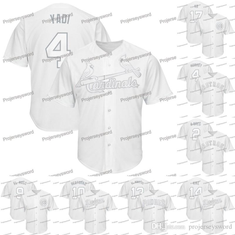 Mens Yadier Molina 2019 Players Weekend Jersey Alex Bregman George Springer Javier Baez Justin Turner Machado Manny Baseball Jerseys Cheap