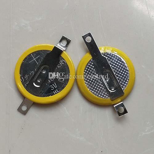 pilas de botón de litio CR1616 con pestañas para soldar PCB soldadura pilas de botón pasadores CR1616-1F2