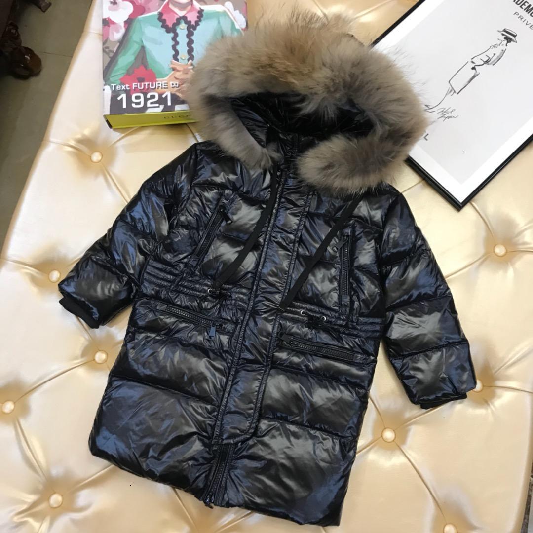 Crianças jaqueta crianças roupas de grife moda inverno longo jaqueta chapéu forrado colarinho cintura destacável costume casaco design