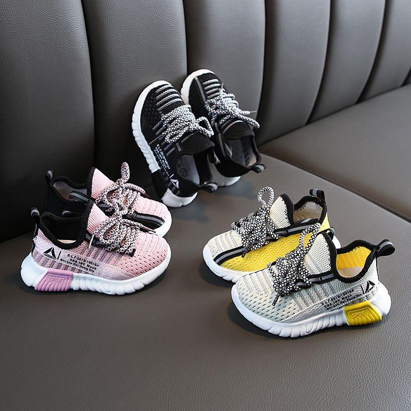 zapatos de baloncesto de las zapatillas de deporte de los niños transpirable zapatos corrientes sneakersChildren zapato de los muchachos de los zapatos corrientes zapatos de los muchachos de las muchachas de los niños