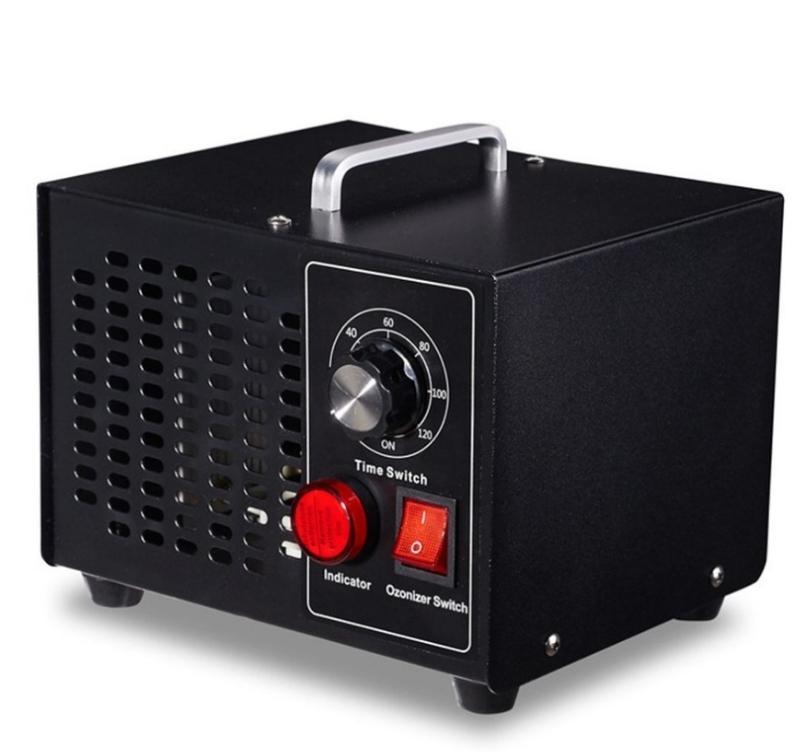 Generador de ozono del hogar Purificador de aire Ozonizador temporizador del filtro de aire de ozono máquina de mitad de grande máquina de esterilización Salud Applicances CY96-1