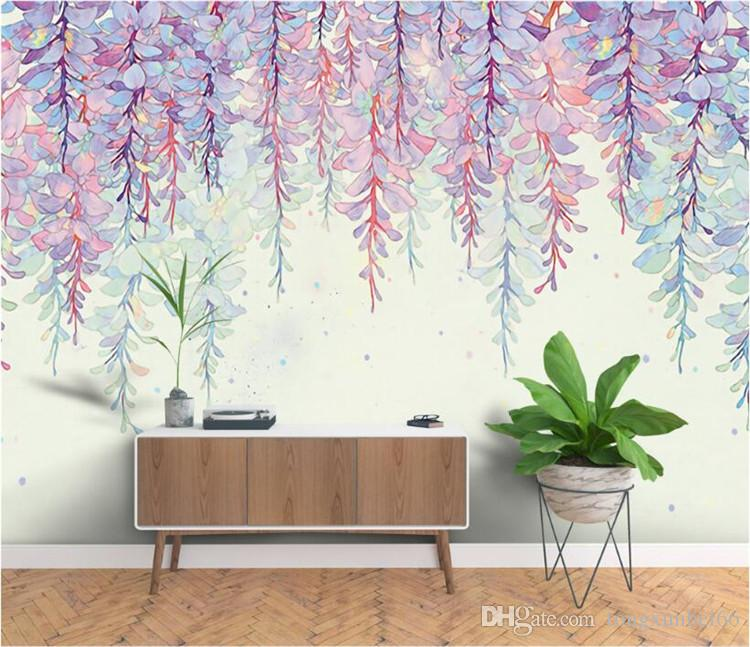 Large 3D Photo Wall Mural Flower for Living Room Bedroom TV Background Wall Paper papel para pared Customer Any Size